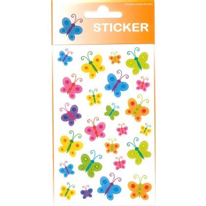 Sticker \´´Schmetterlinge\´´ bunt